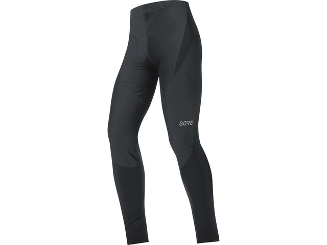 GORE WEAR C3 Partial Windstopper+ Tights Herre black